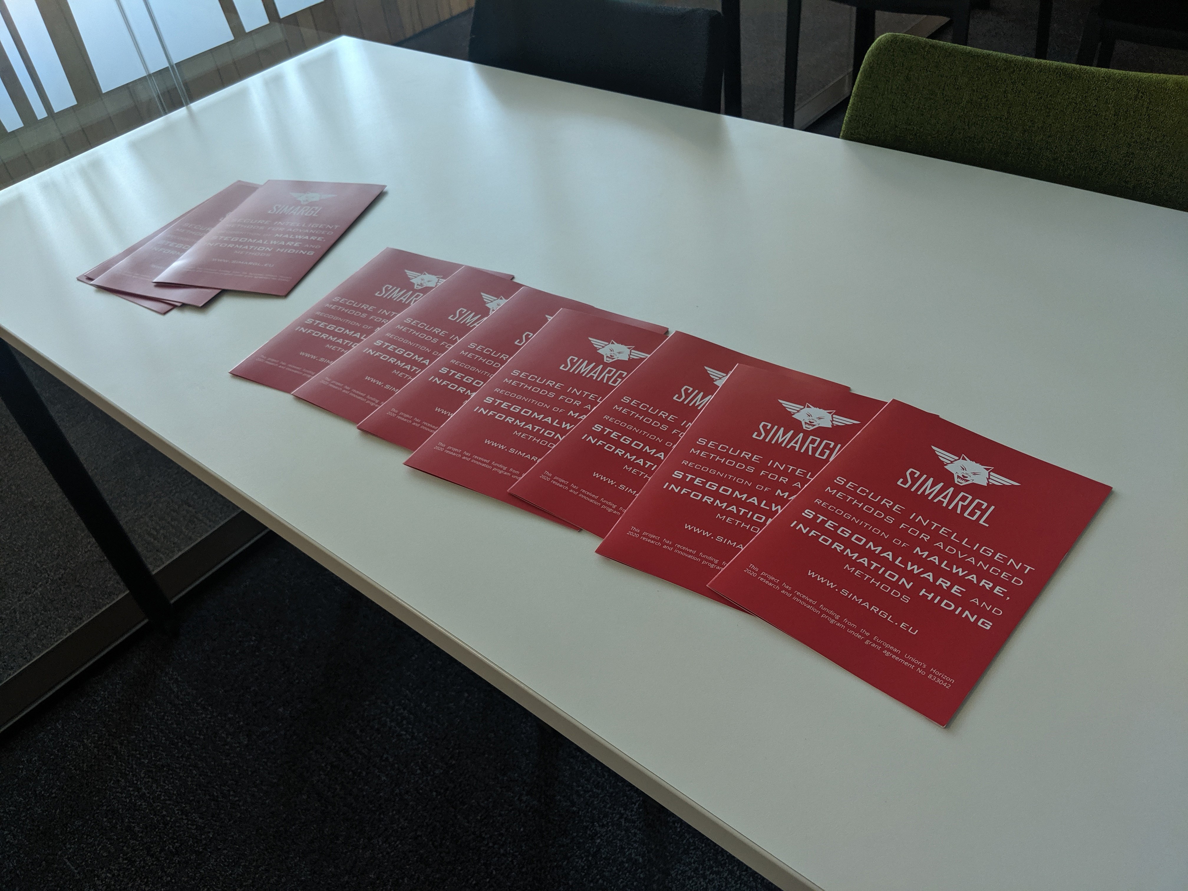 SIMARGL leaflets at the CUING workshop
